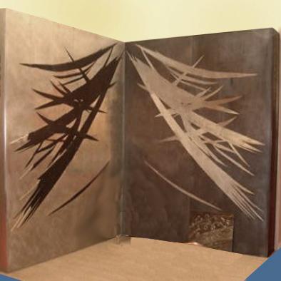 Peinture murale d coration murale fresque art mural paris for Peinture metallisee murale